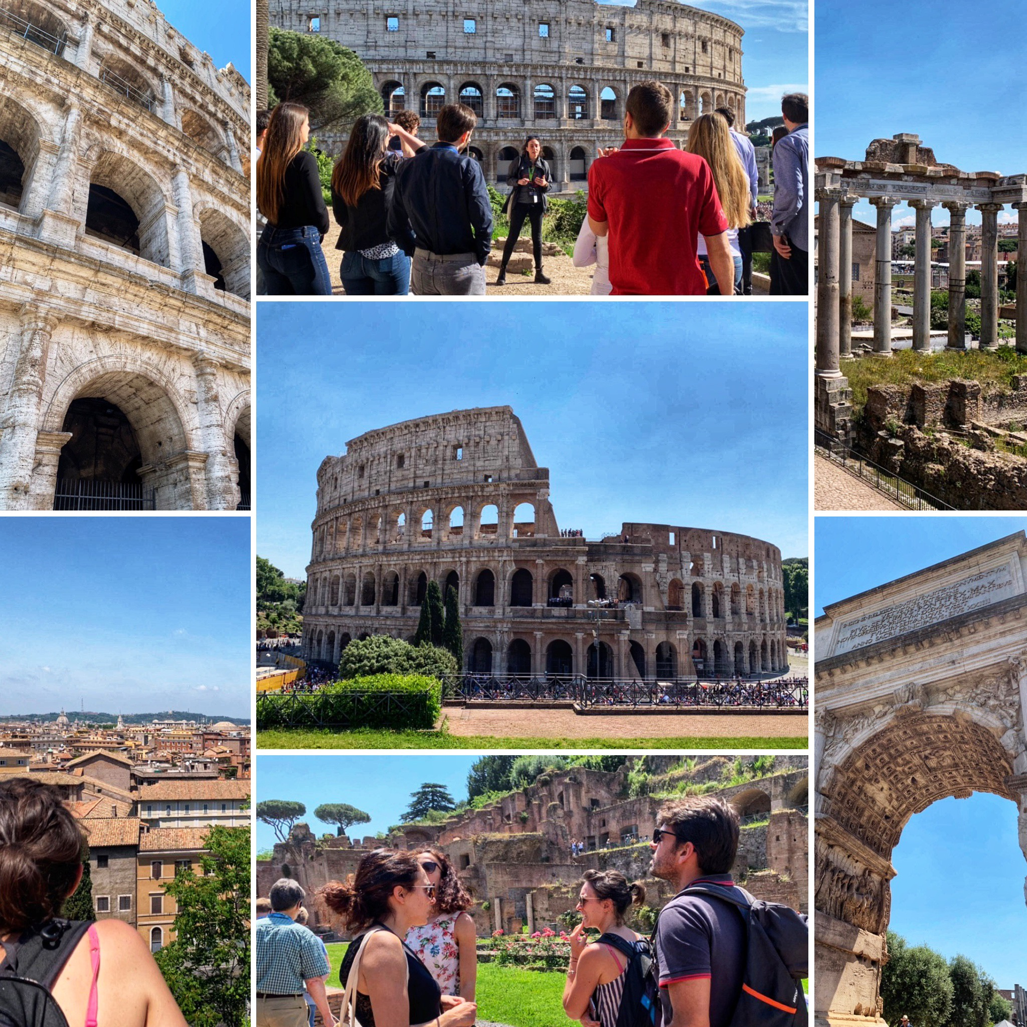 The Colosseum & Forum w/an Archaeologist